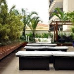 Rio Garden Design Paisagismo - Terreaço de apartamento térreo em Botafogo